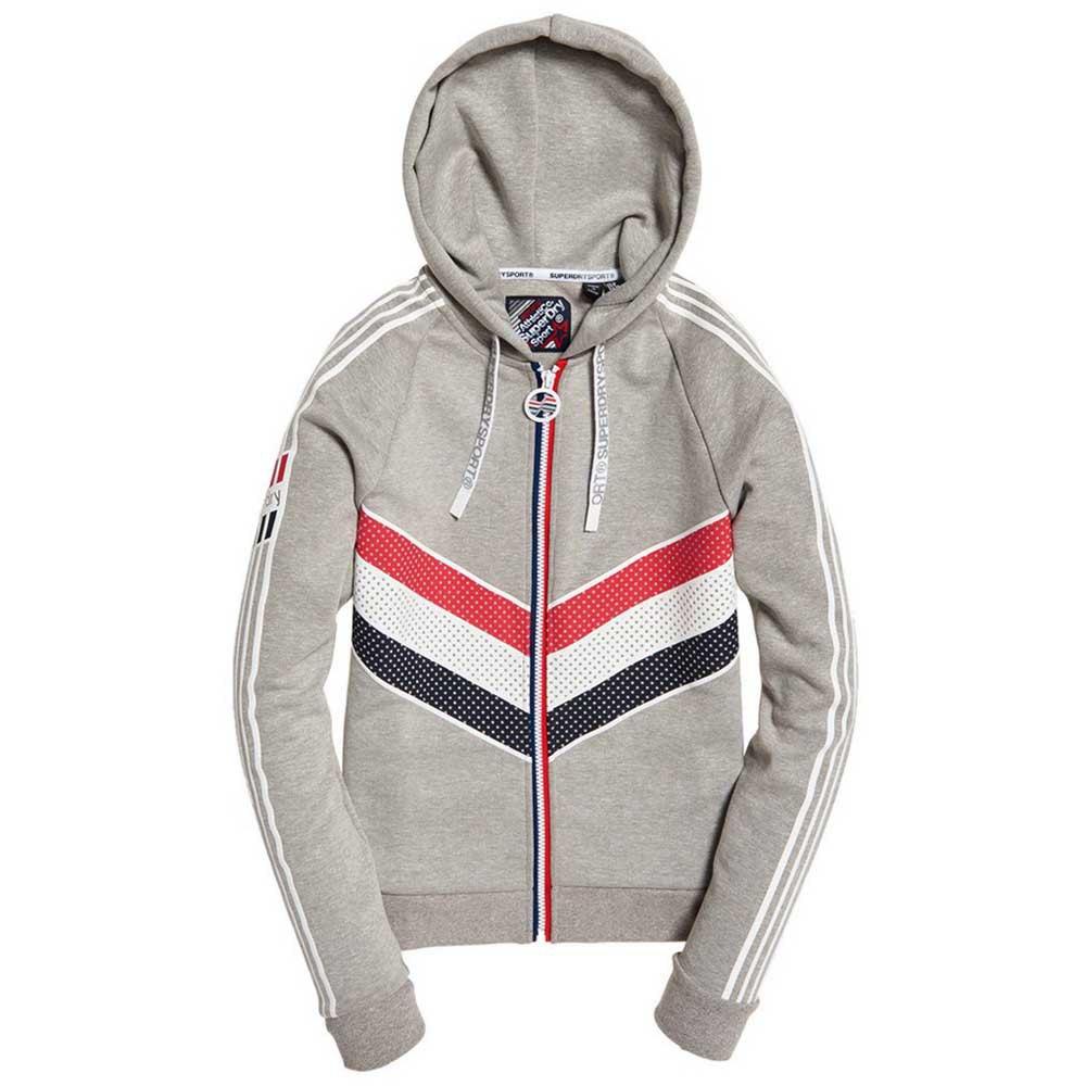 Superdry Athletico grå, Sweatshirts och Hoodies Superdry, fitness