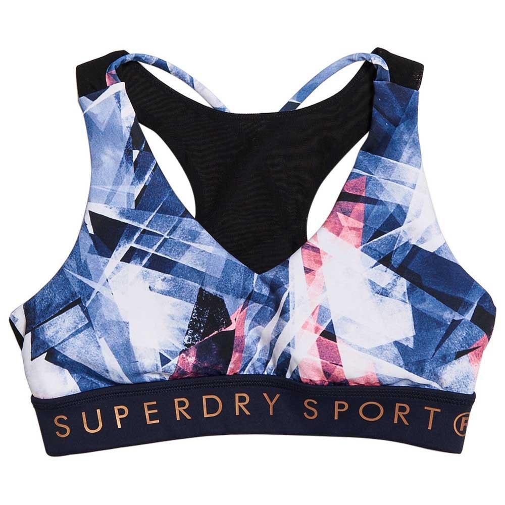Superdry Active Studio XL Violet Shard Print