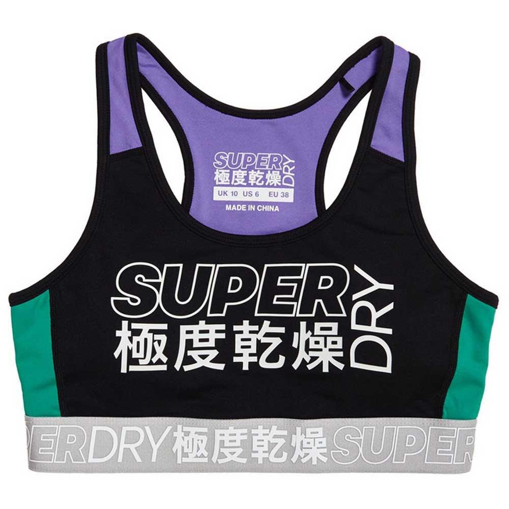 Superdry Super Sport XS Black / Purple