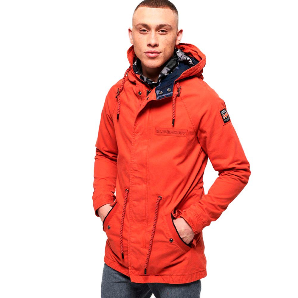 Superdry Aviator Rookie Parka XXL Burnt Orange