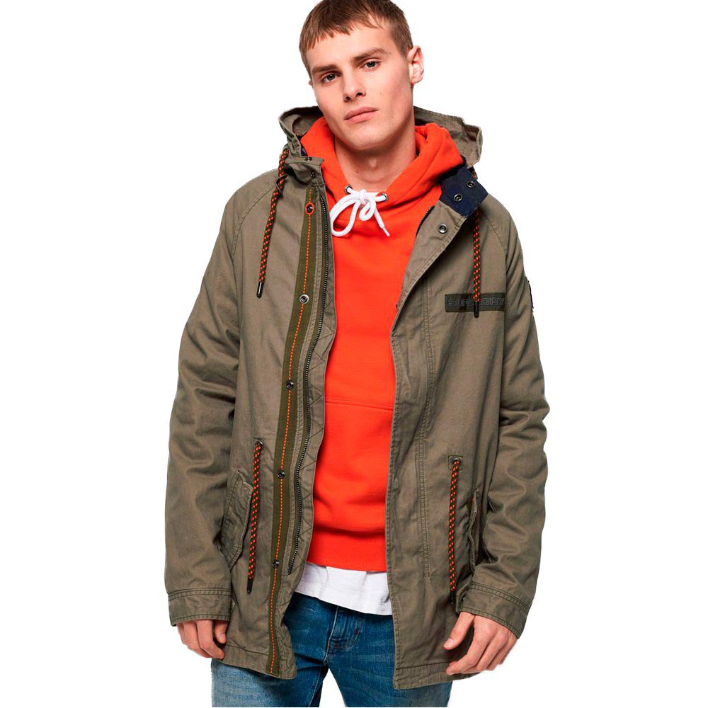 Superdry Aviator Rookie Parka XXL Troop Khaki