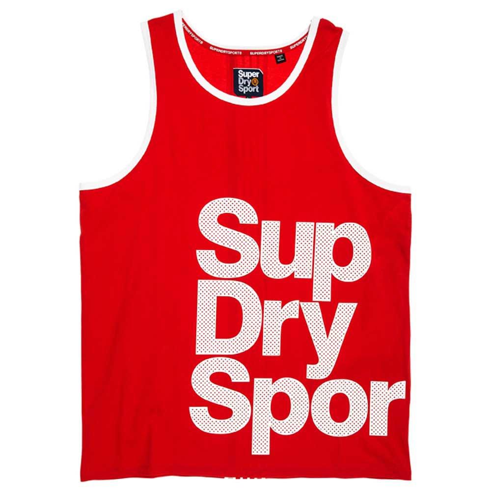Superdry Combat Sport Vest S Red