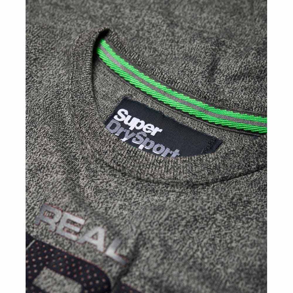 Superdry Highgloss Sport Grigio , Magliette Magliette Magliette Superdry , fitness 6c7acc