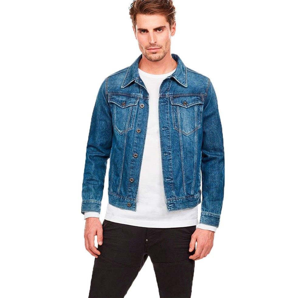 Gstar 3301 Slim , Bleu , Slim Vestes Gstar , mode , VêteHommes ts Homme e6f22f