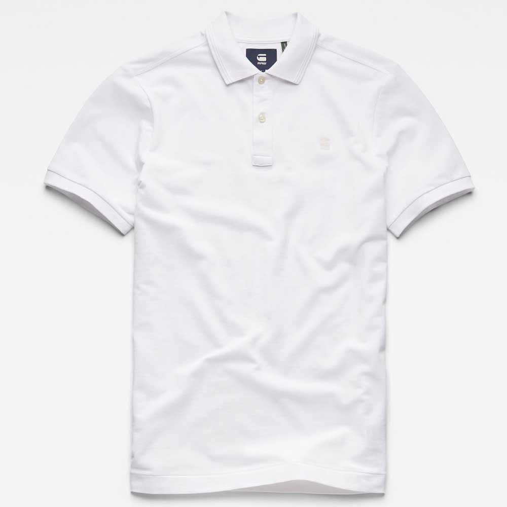 Gstar Dunda Slim Bianco Bianco Bianco , Polo Gstar , moda , Abbigliamento Uomo 16ae8a