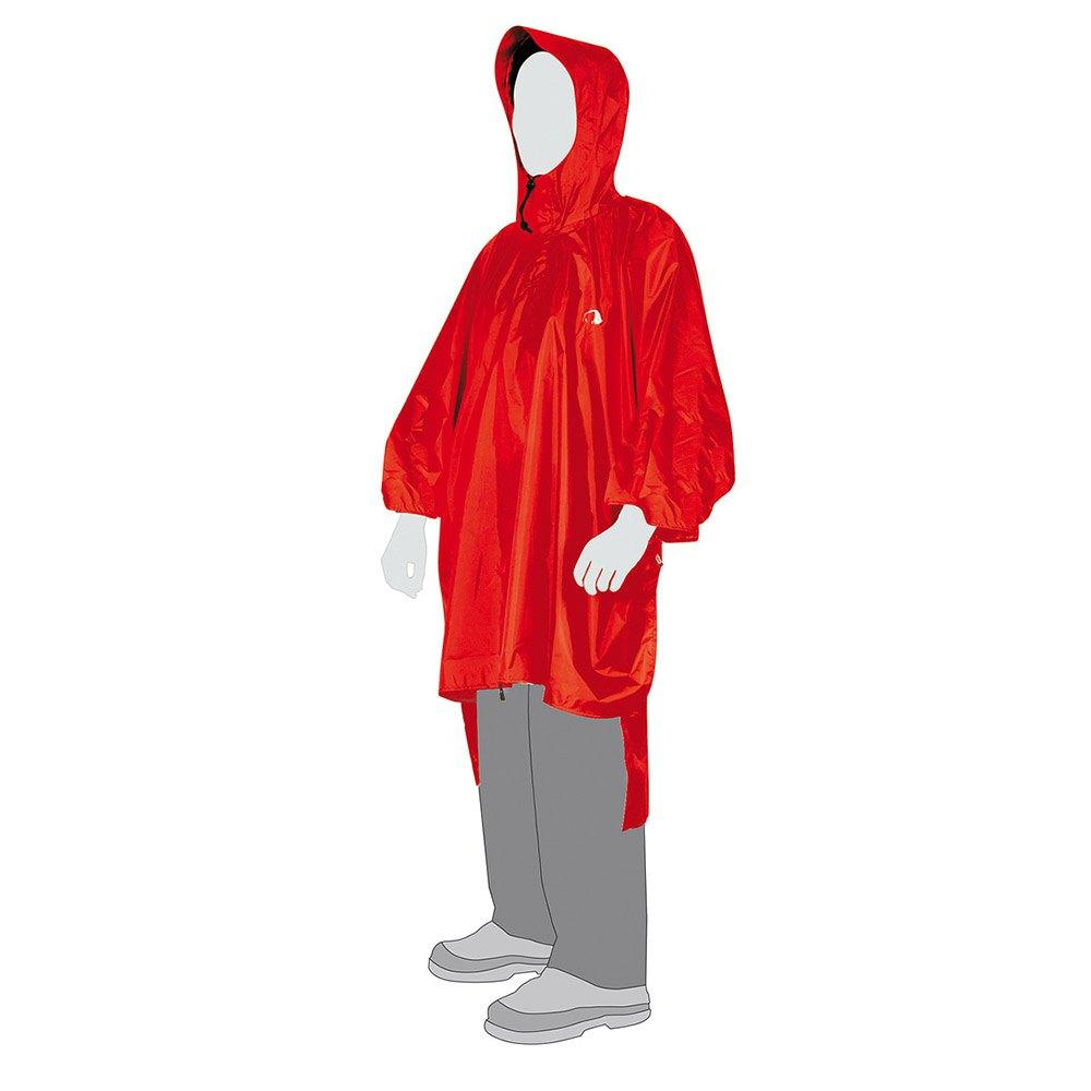 Tatonka Poncho 1 Xs-s One Size Red