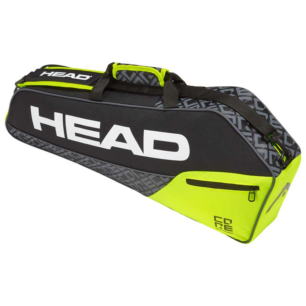 Head Racket Core Pro One Size Black / Neon Yellow