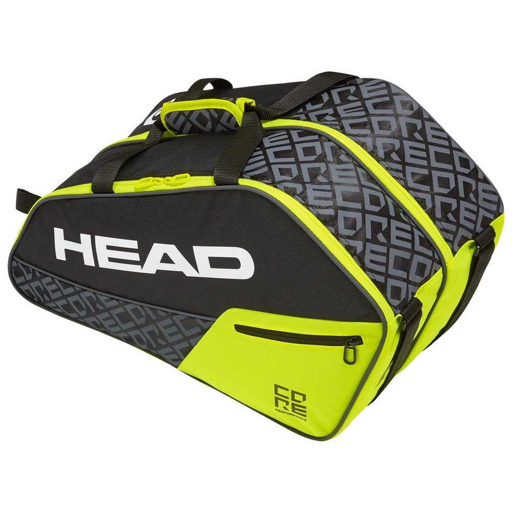 Head Racket Core Combi One Size Black / Neon Yellow