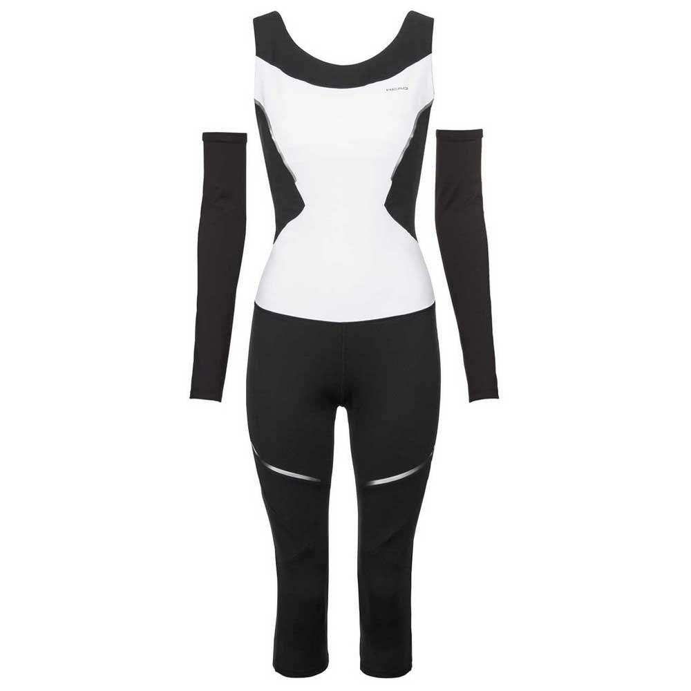 Head Racket Performance Catsuit L White / Black