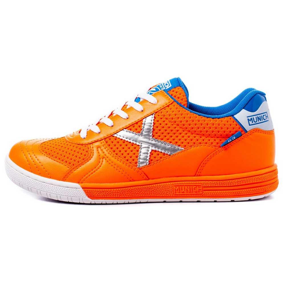 Munich Chaussures Football Salle G3 In EU 44 Orange