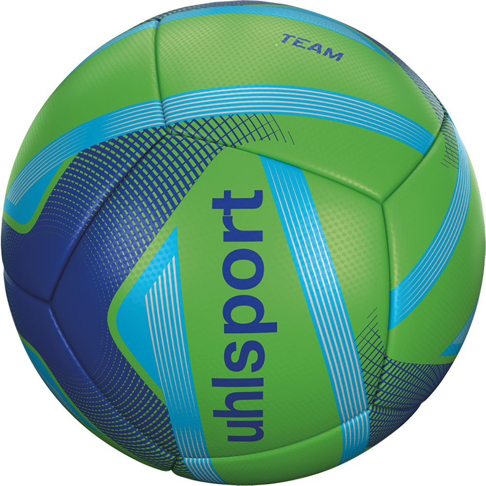 Uhlsport Team Mini Football Ball 4 Units One Size Fluo Green / Royal / Cyan