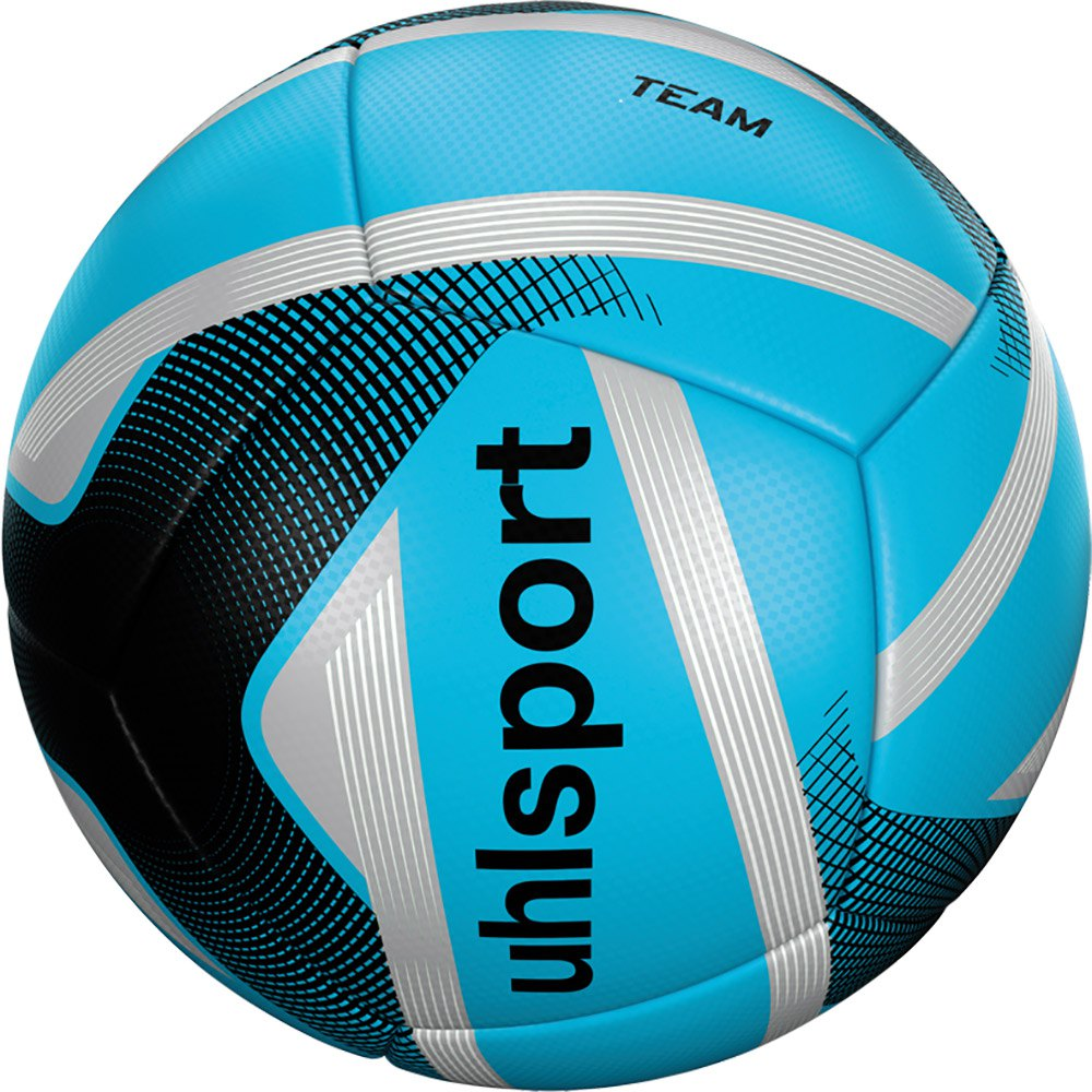 Uhlsport Team Mini Football Ball 4 Units One Size Ice Blue / Black / Silver