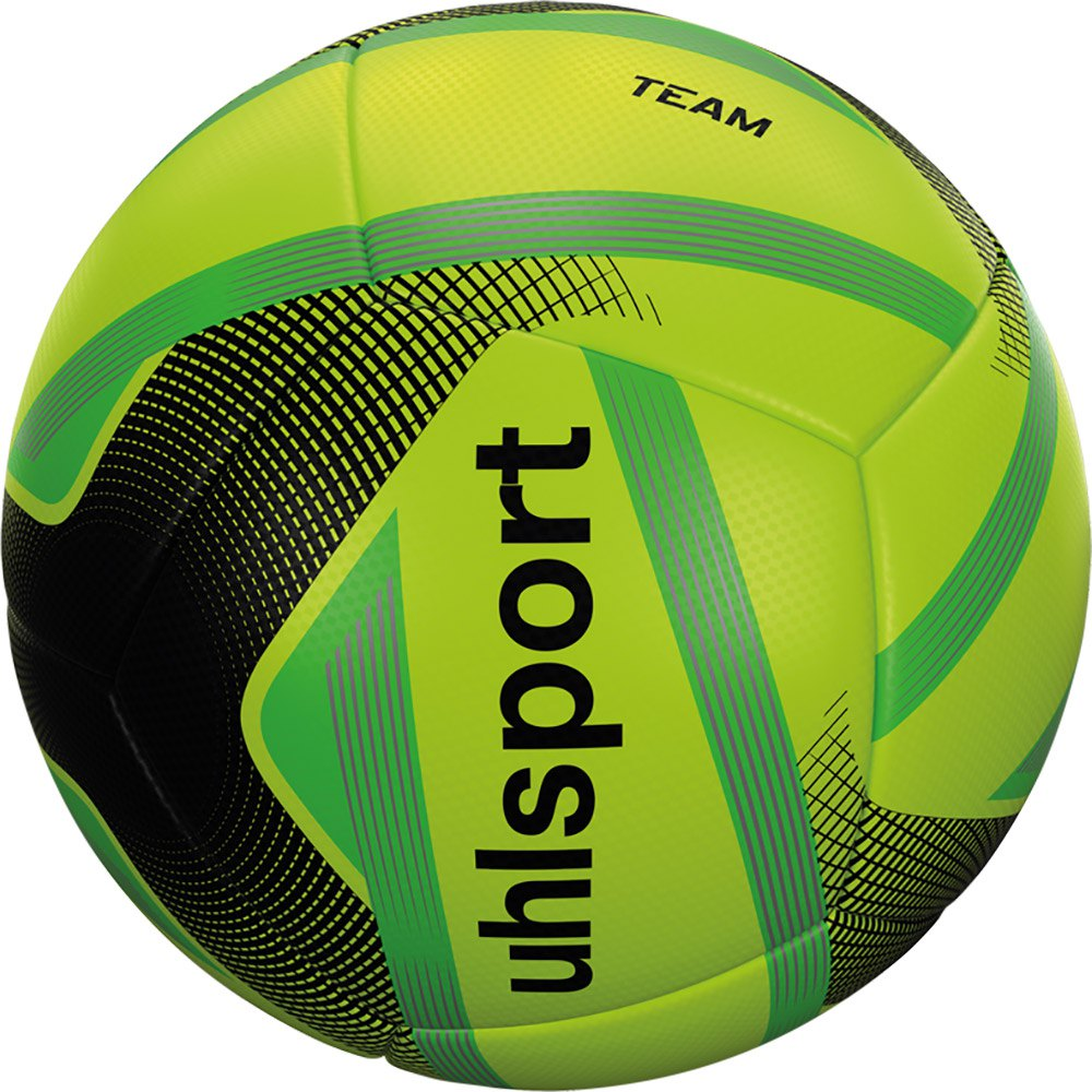 Uhlsport Team Mini Football Ball 4 Units One Size Fluo Yellow / Black / Fluo Green