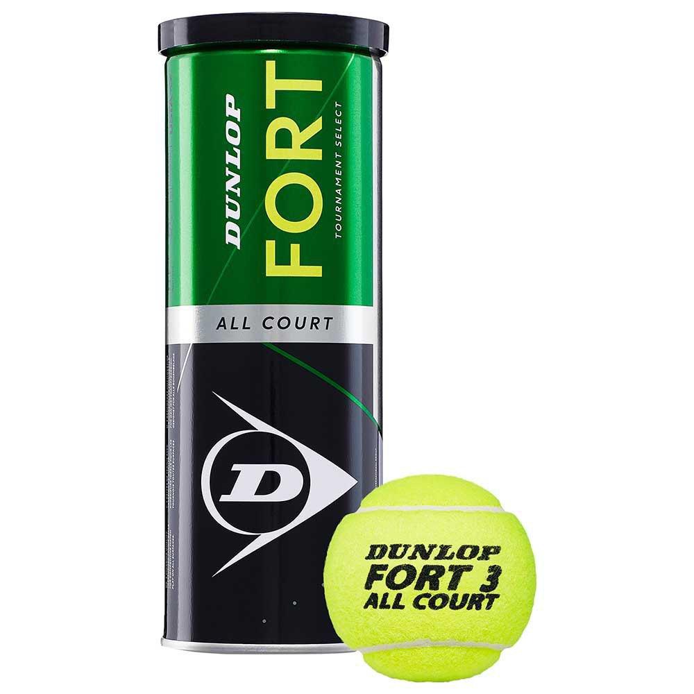 Dunlop Fort All Court Ts 3 Balls Yellow