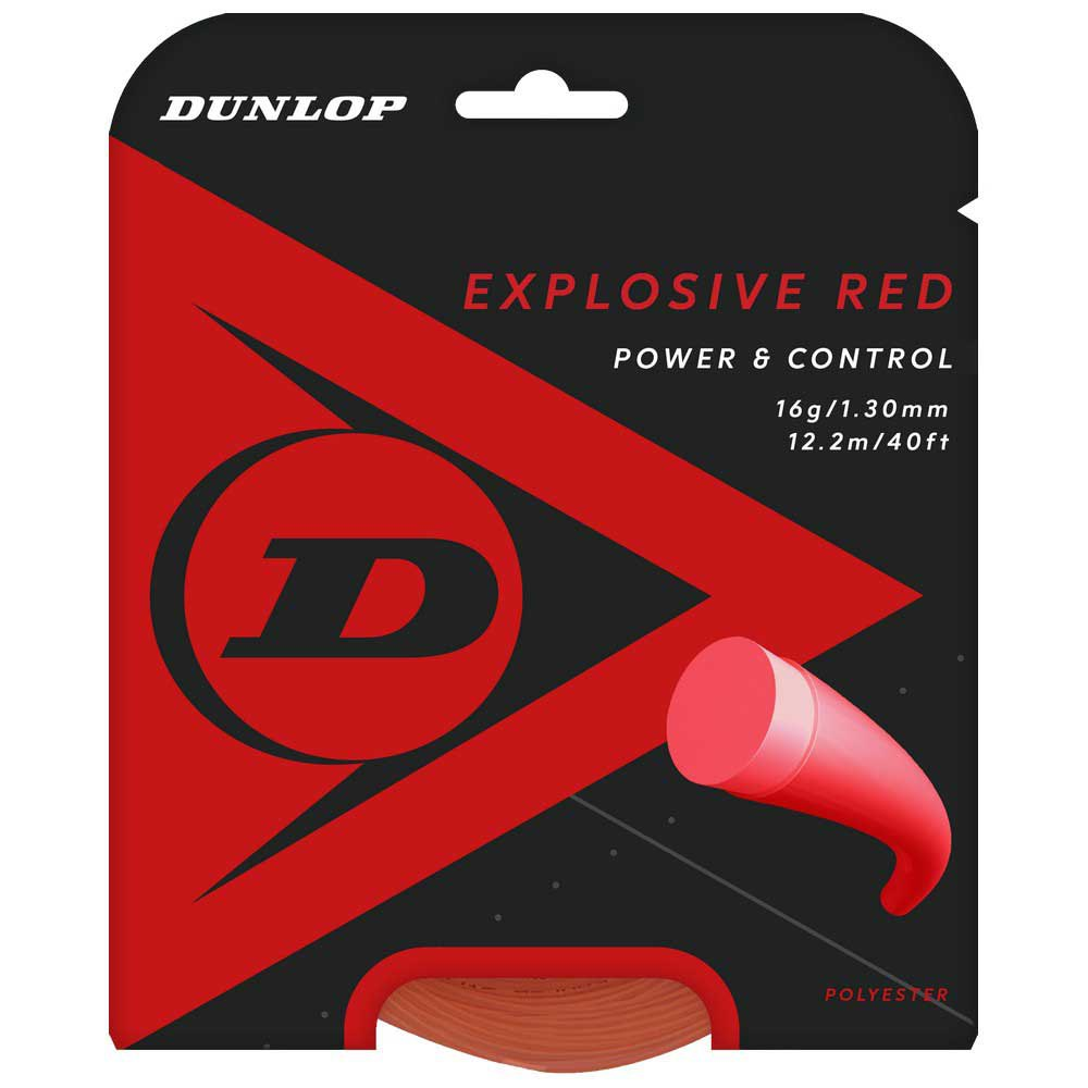 Dunlop Polyester 12 M 1.30 mm Red