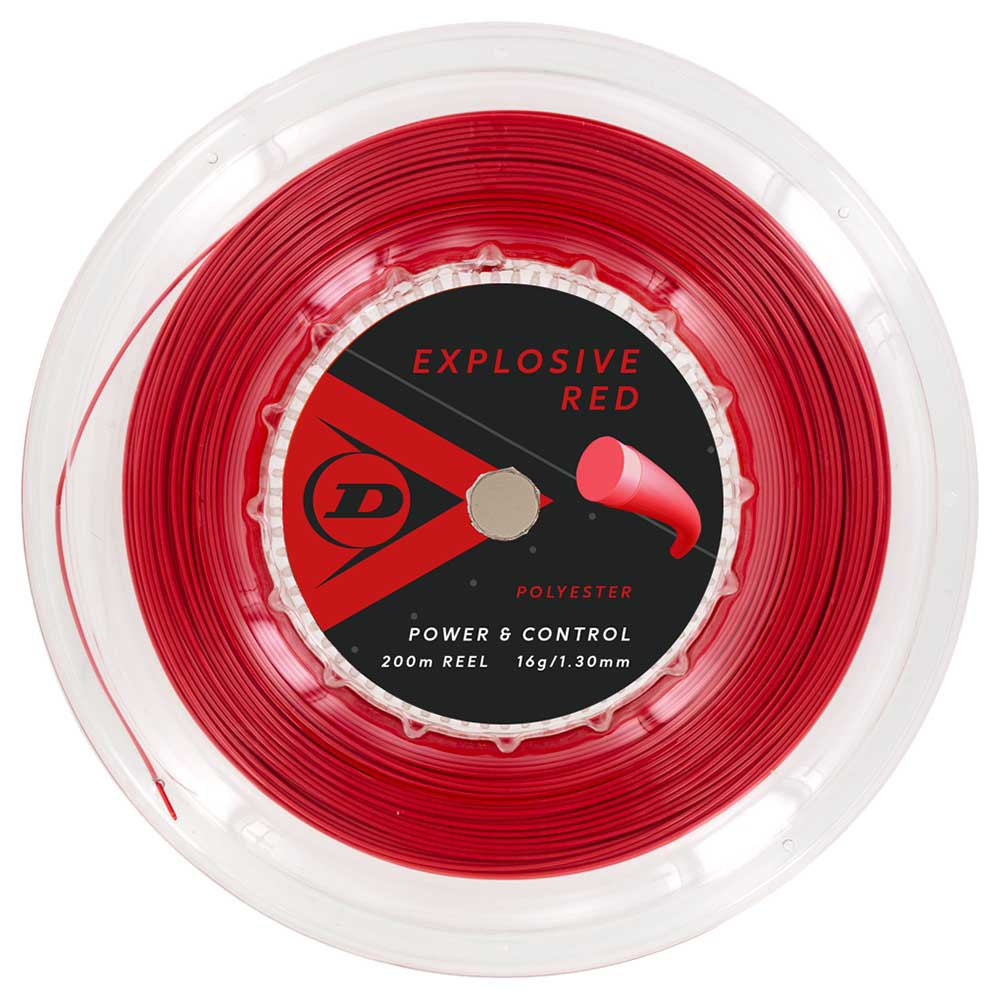 Dunlop Polyester 200 M 1.30 mm Red