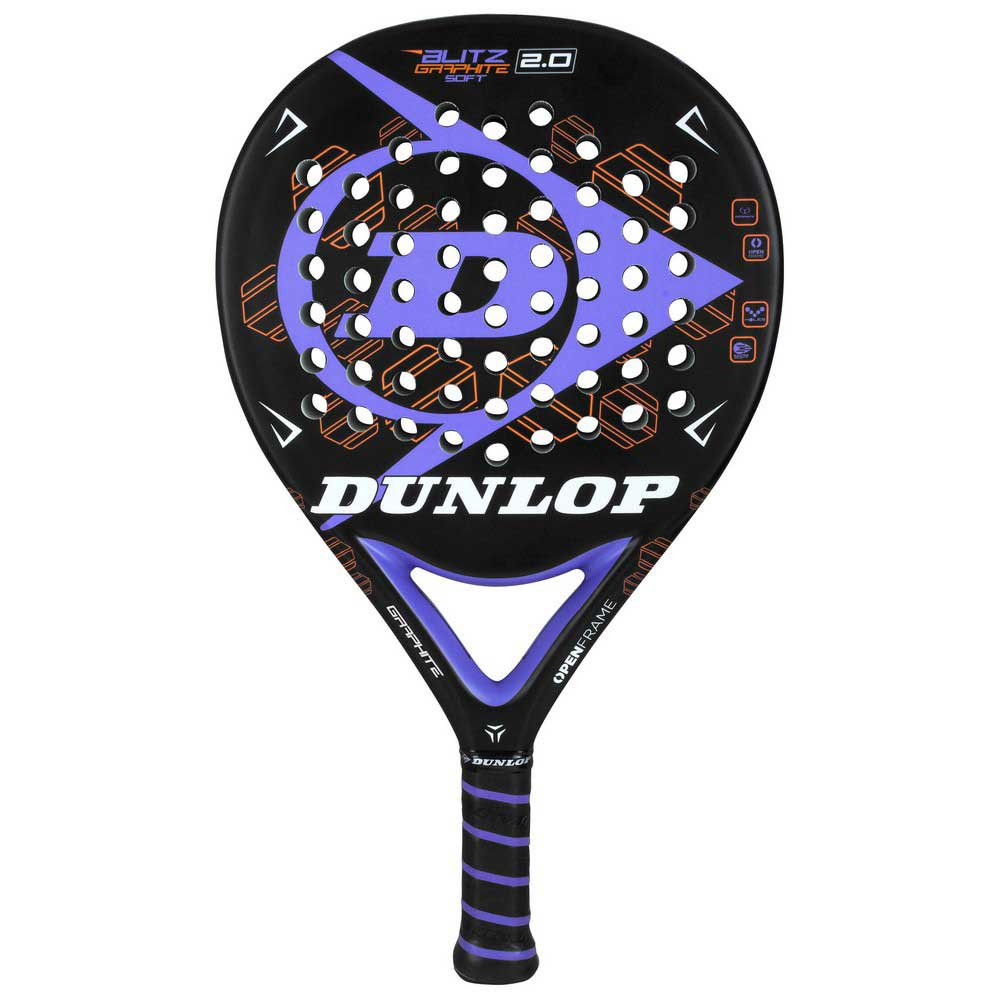 Dunlop Blitz Graphene Soft 2.0 One Size Black / Purple / Orange