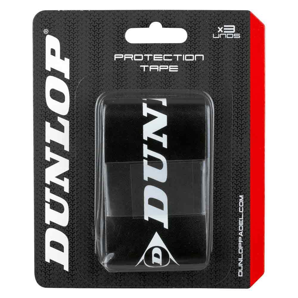 Dunlop Protecteur Raquette Padel 3 Unités One Size Black / White