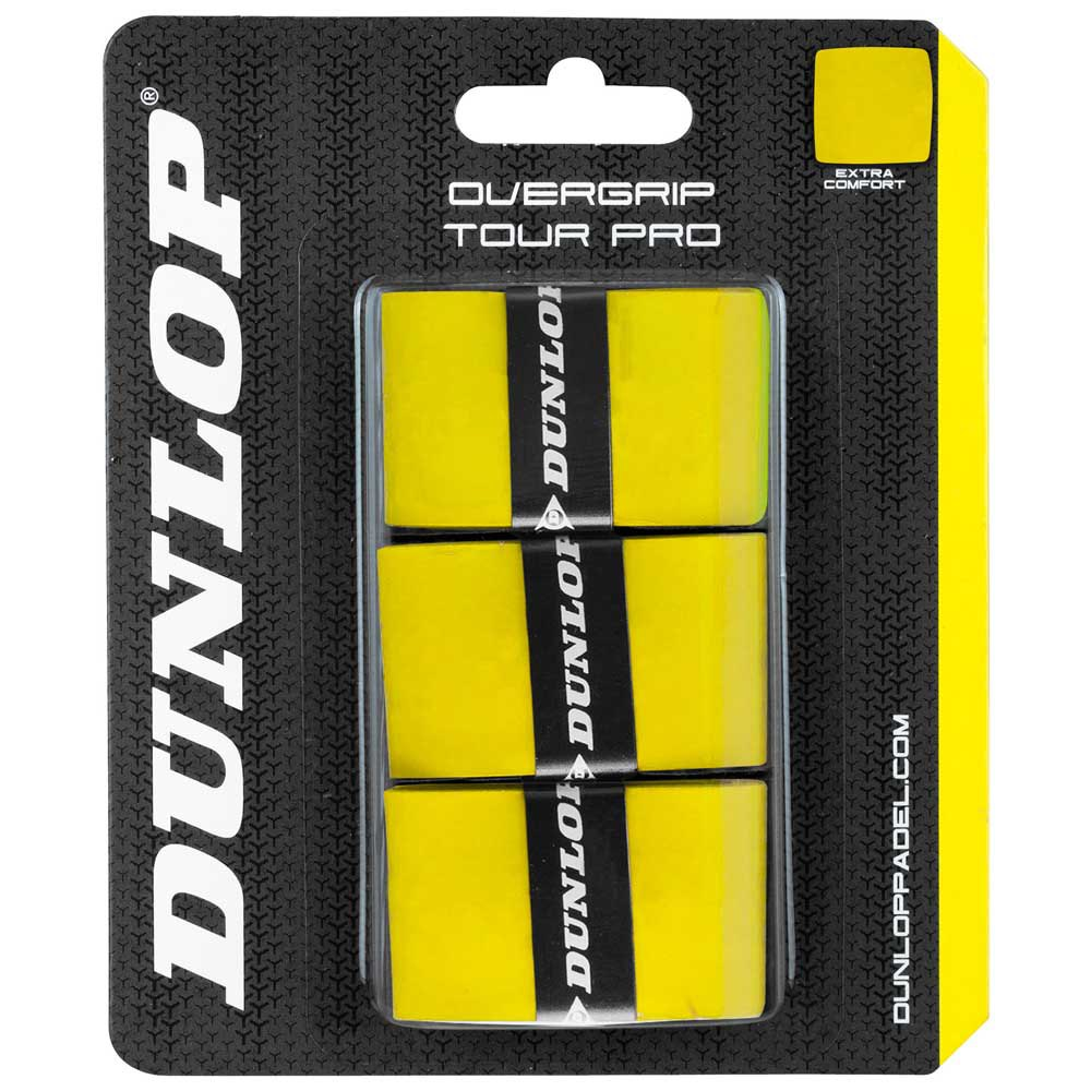 Dunlop Tour Pro 3 Units One Size Yellow