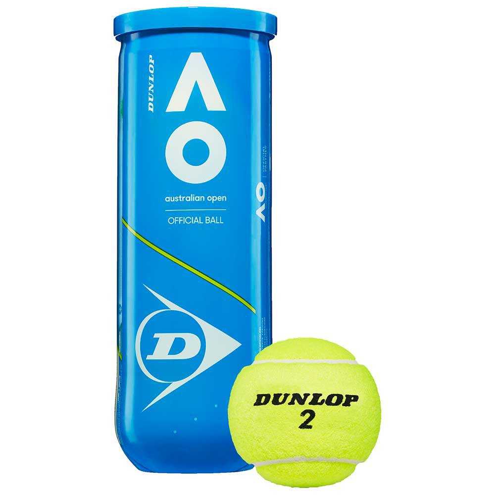 Dunlop Australian Open 3 Balls Yellow