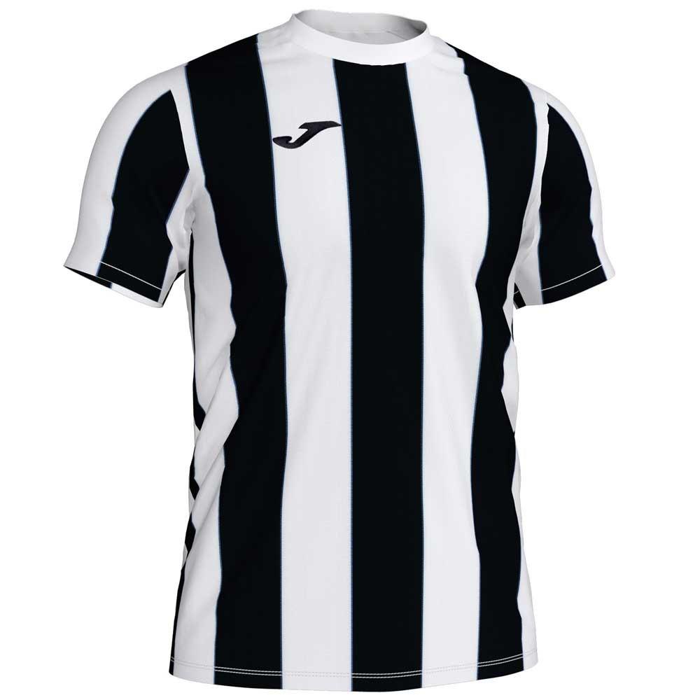 Joma T-shirt Manche Courte Inter S White / Black Stripe