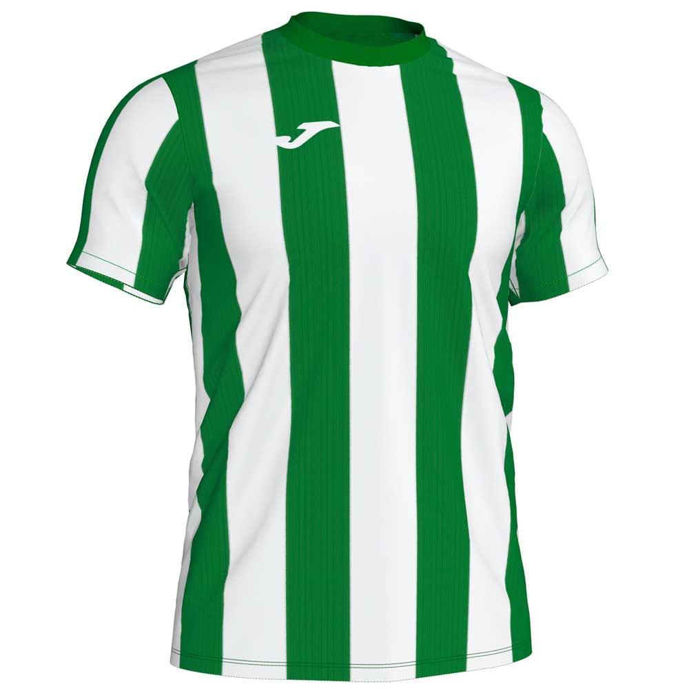 Joma T-shirt Manche Courte Inter S Green / White Stripe