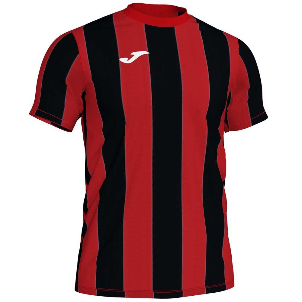 Joma T-shirt Manche Courte Inter S Red / Black Stripe
