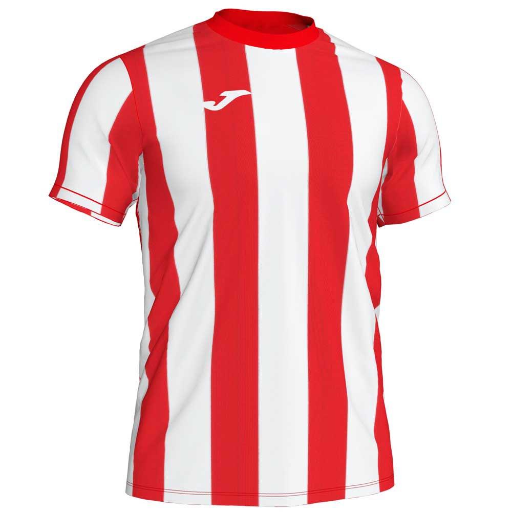 Joma T-shirt Manche Courte Inter S Red / White Stripe
