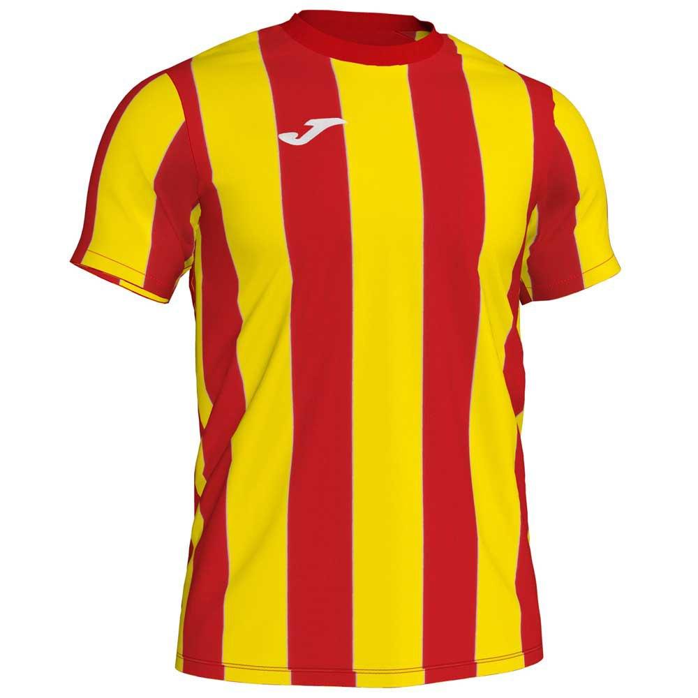 Joma T-shirt Manche Courte Inter S Red / Yellow Stripe