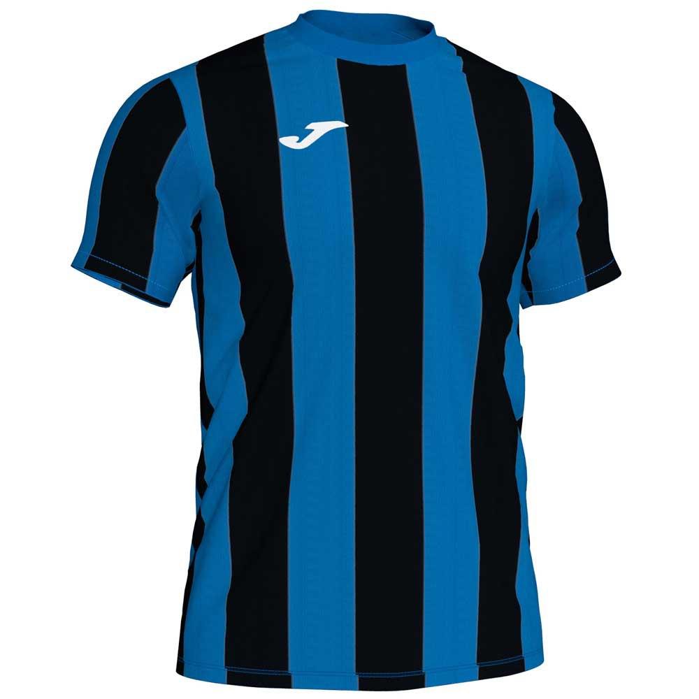Joma T-shirt Manche Courte Inter S Royal / Black Stripe