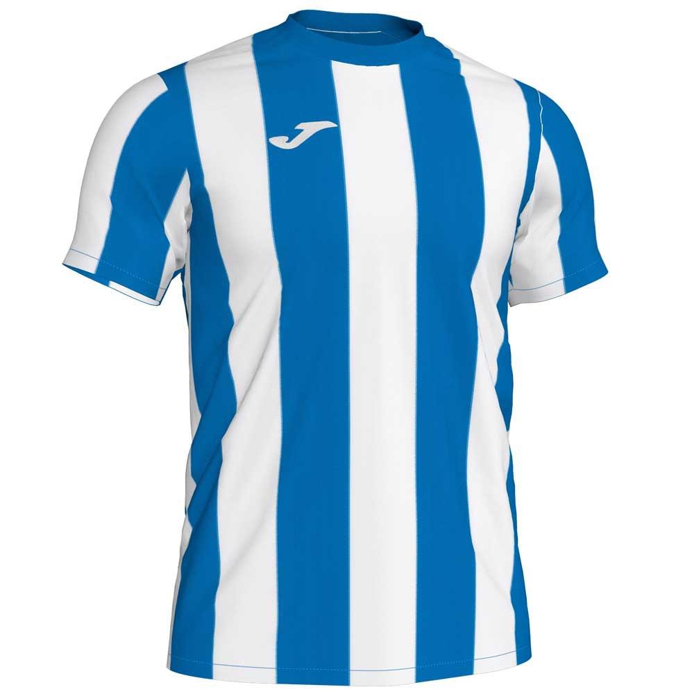 Joma T-shirt Manche Courte Inter S Royal / White Stripe