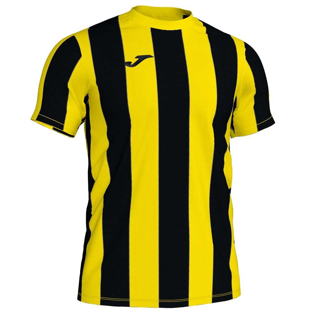 Joma T-shirt Manche Courte Inter S Yellow / Black Stripe
