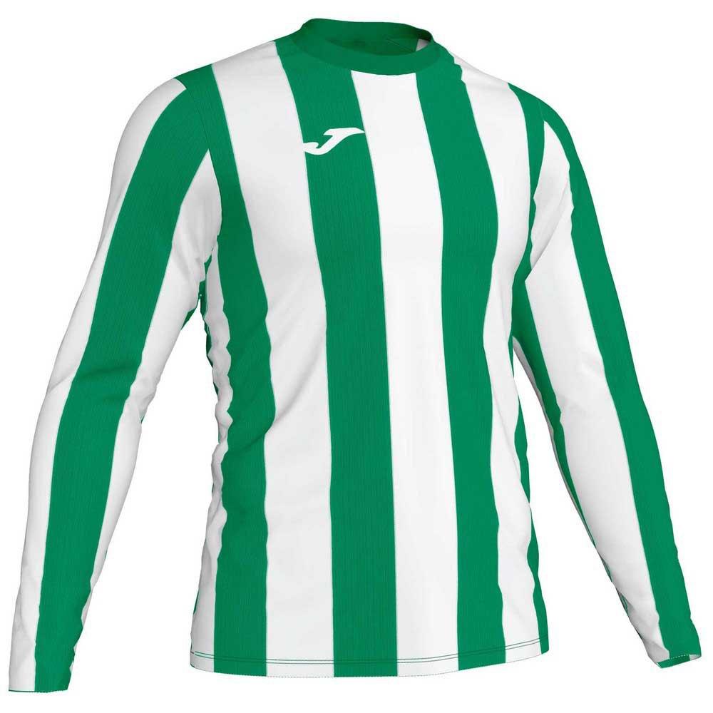 Joma Inter T-shirt Manche Longue S Green / White