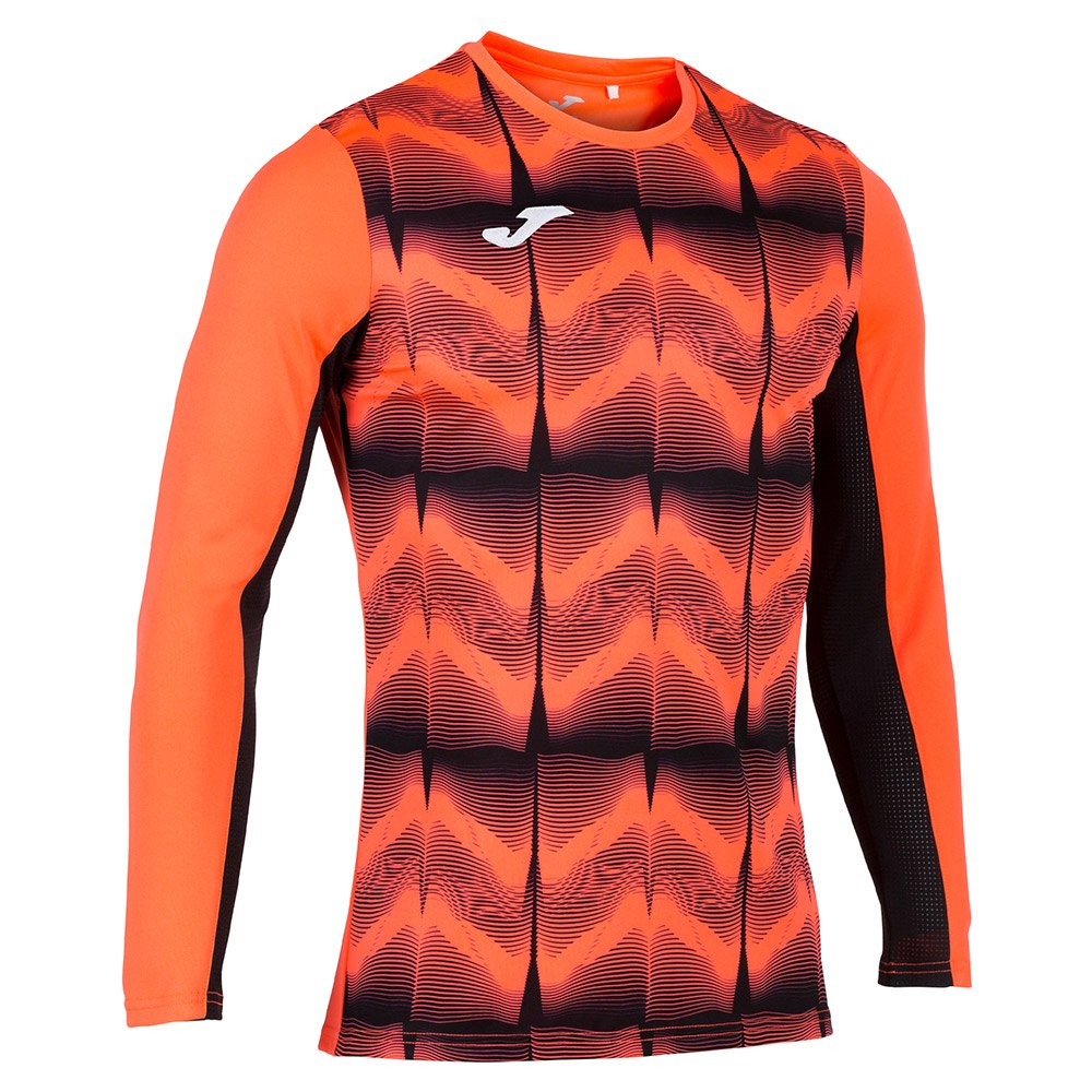 Joma Derby Iv T-shirt Manche Longue S Coral Fluor
