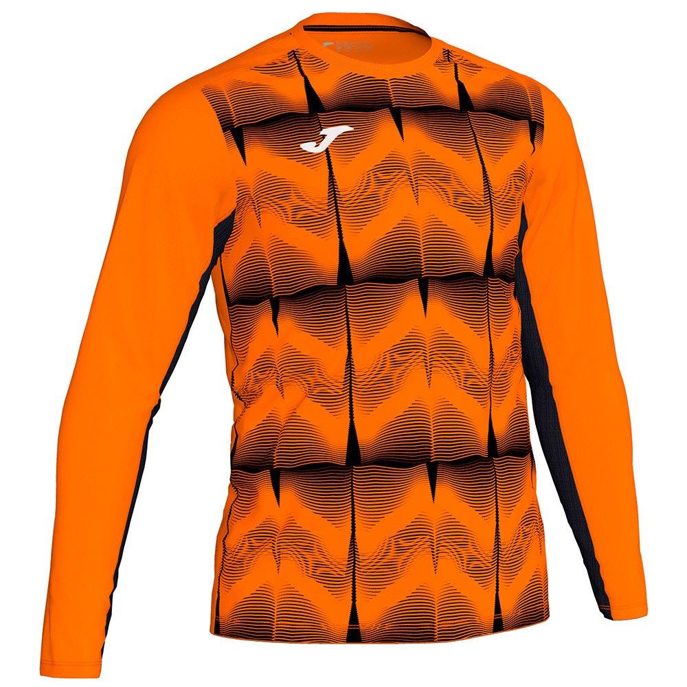 Joma Derby Iv T-shirt Manche Longue 4-6 Years Orange