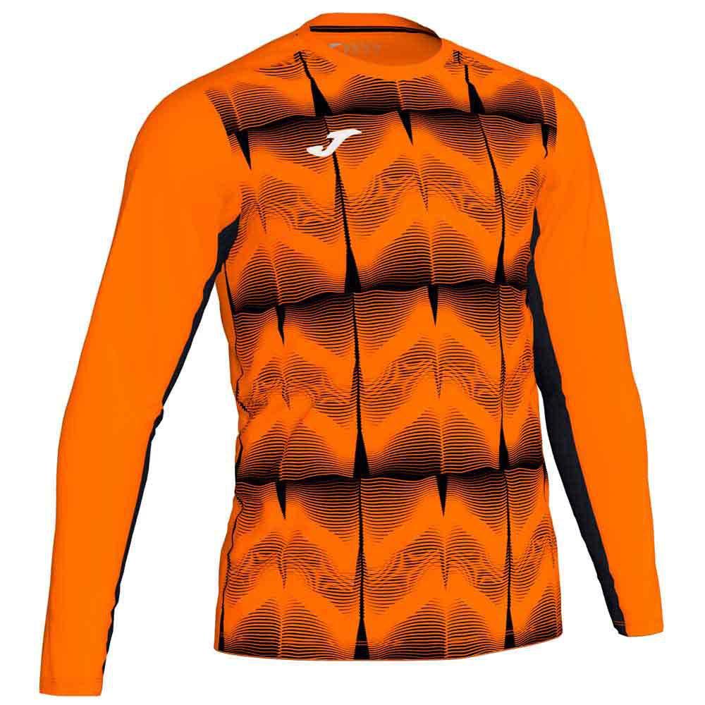 Joma Derby Iv T-shirt Manche Longue S Orange