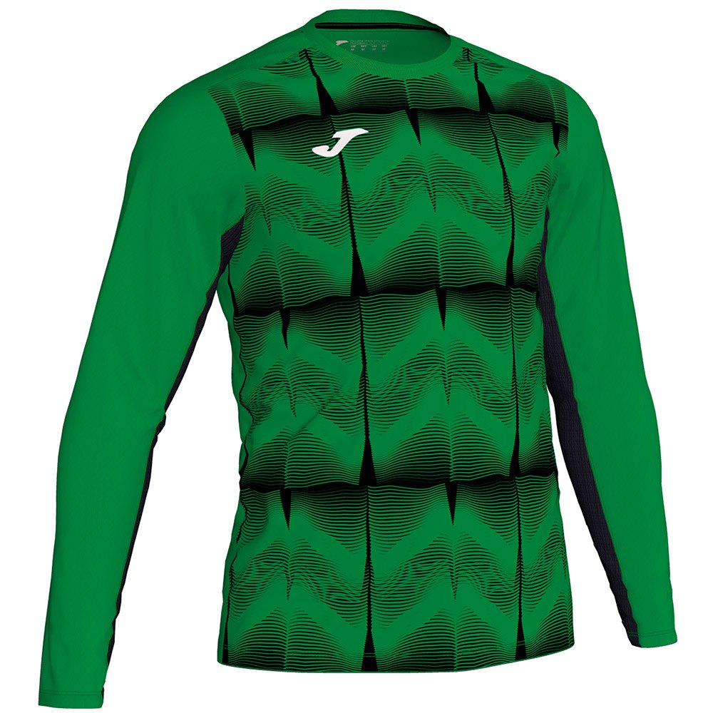 Joma Derby Iv T-shirt Manche Longue 4-6 Years Green