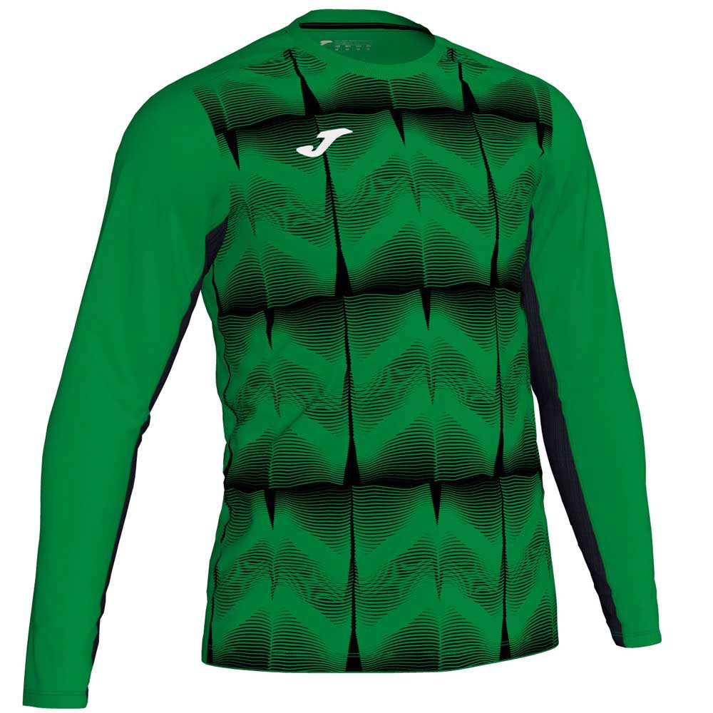Joma Derby Iv T-shirt Manche Longue S Green