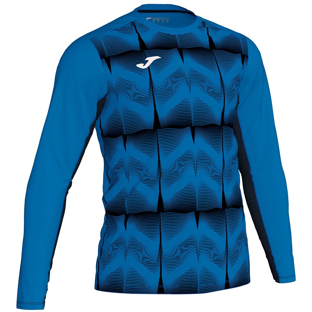 Joma Derby Iv T-shirt Manche Longue 4-6 Years Royal