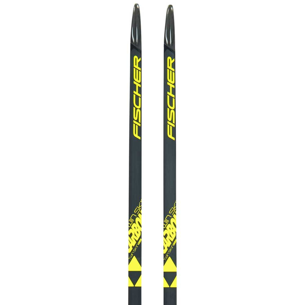 Fischer Twin Skin Carbon Stiff Ifp Nordic Skis 197 Black / Yellow