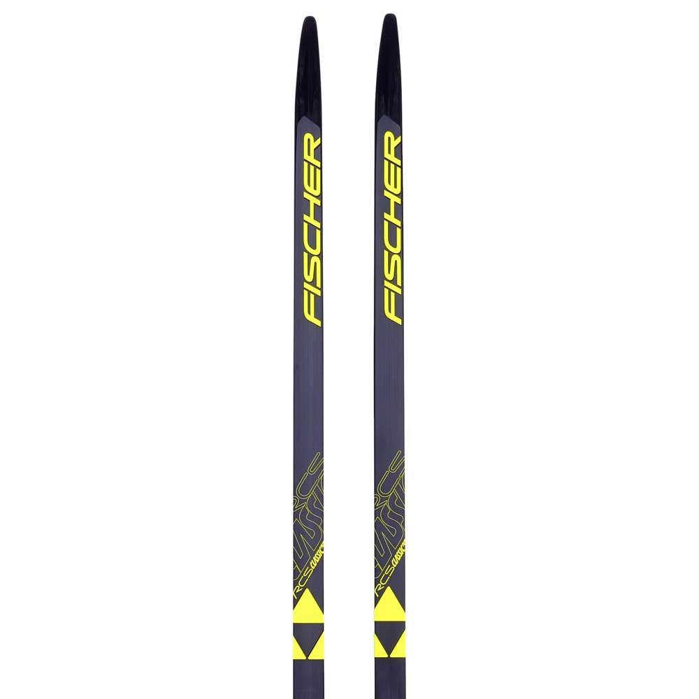 Fischer Rcs Classic Plus Soft Ifp Nordic Skis 207 Black / Yellow