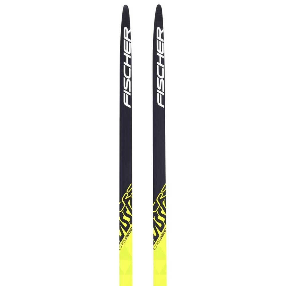 Fischer Crs Classic Ifp Nordic Skis 197 Black / Yellow