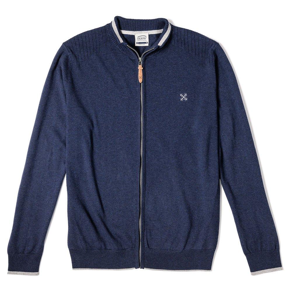 Moda Uomo Blu Abbigliamento Felpe Parso Oxbow wXqt11