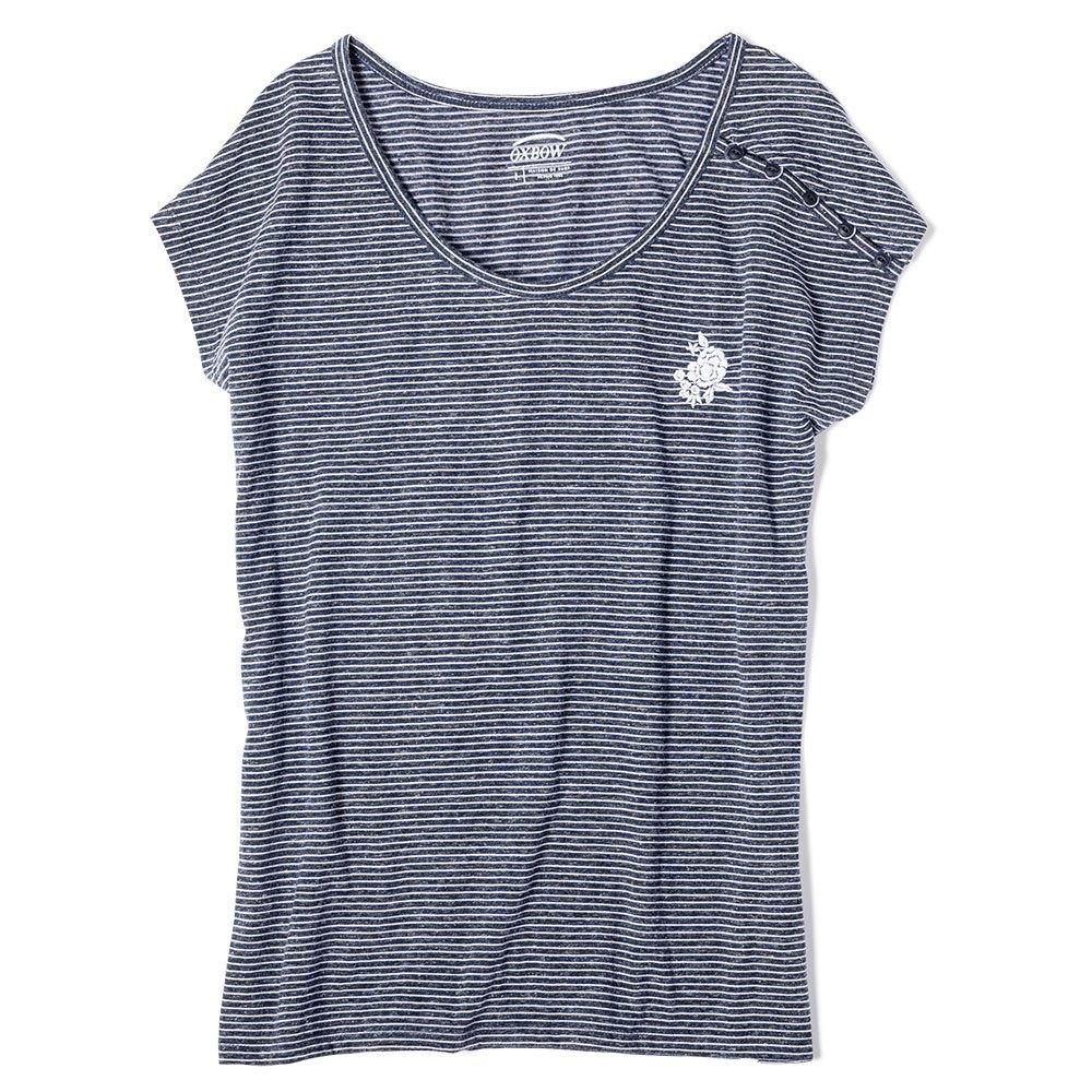 Blu Magliette Moda Abbigliamento Donna Oxbow Tulip vWpqfW5