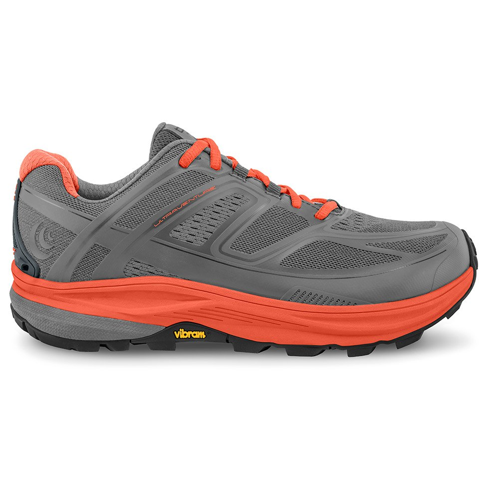 Topo Athletic Ultraventure EU 37 1/2 Grey / Tangerine