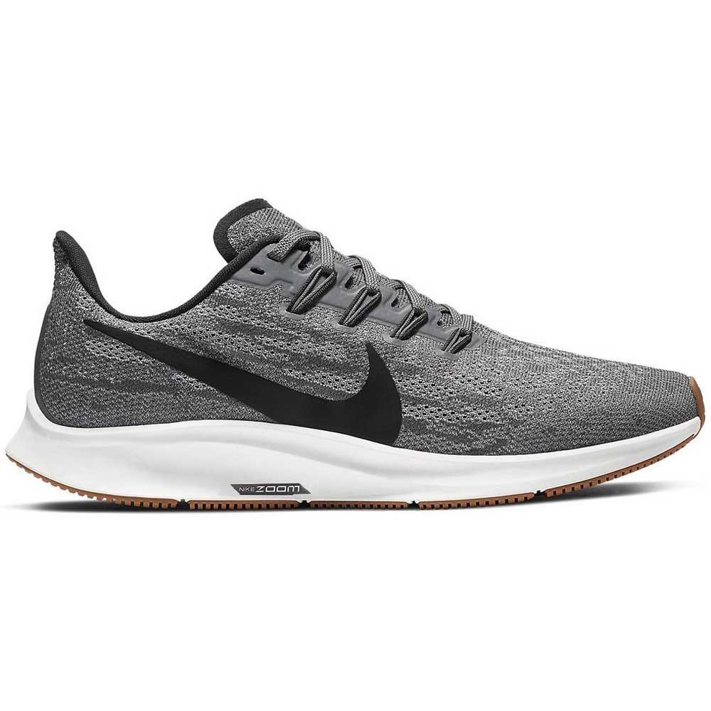 Nike Air Zoom Pegasus 36 EU 35 1/2 Gunsmoke / Oil Grey / White / Gum Light Brown