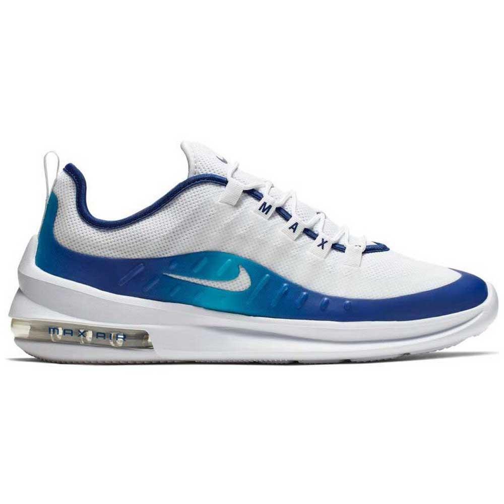 nike air max axis blanc gym blue