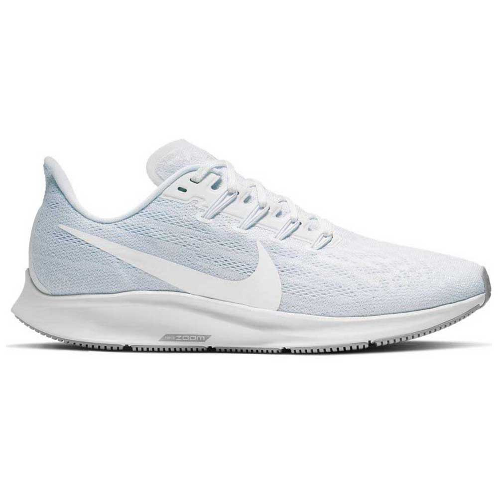 Nike Air Zoom Pegasus 36 EU 41 White / White / Half Blue / Wolf Grey