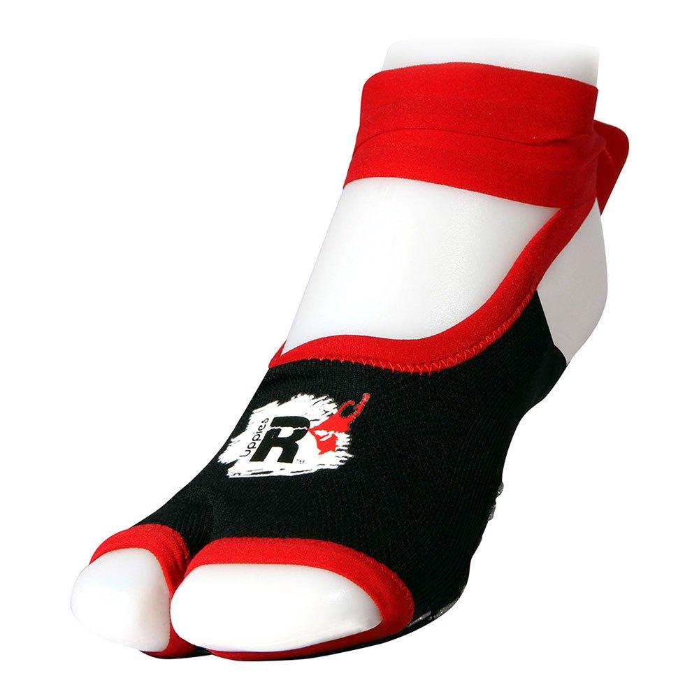 R-evenge Chaussettes Uppies Sport EU 32-37 Black / Red
