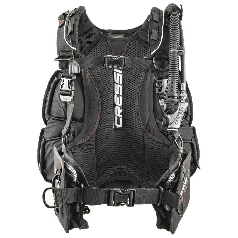 Cressi Scorpion Tarierjacket Black Grey Westen Scorpion Tarierjacket